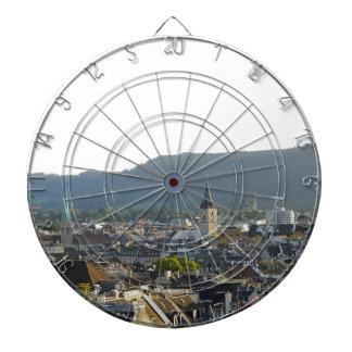 De Horizon van Zürich Zwitserland Dartbord