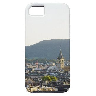 De Horizon van Zürich Zwitserland Tough iPhone 5 Hoesje