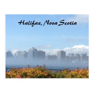 De horizonbriefkaart van Halifax, Nova Scotia Briefkaart