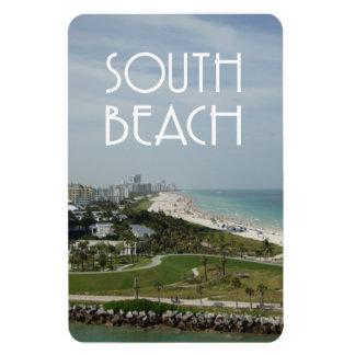 De horizonfoto van Miami van het Strand van het zu Magneet