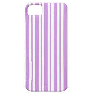 De Horizontale Krijtstreep van de lavendel Barely There iPhone 5 Hoesje