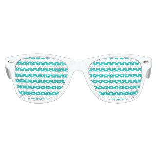 De Horizontale Strepen van Aqua Kinder Zonnebril