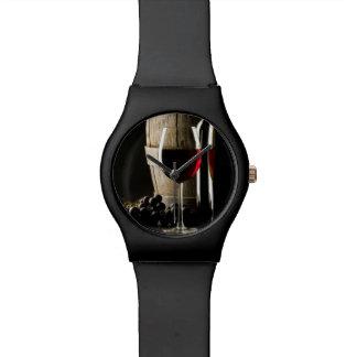 De horloges van de Minnaar van de wijn