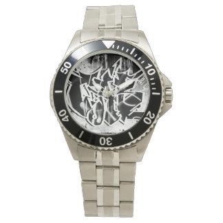 De Horloges van Graffiks van de douane door