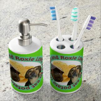 De Houder en Zeep Dispencer van de Tandenborstel Bad Accessoires Set