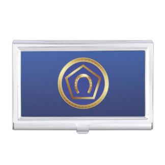 De Houder van het visitekaartje: Het Logo van de S Visitekaarthouder