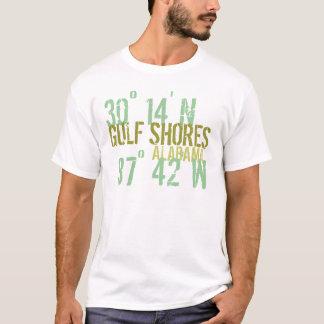 De Houding van de Kusten van de golf T Shirt