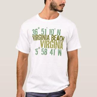 De Houding van het Strand van Virgina T Shirt