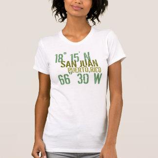 De Houding van Puerto Rico T Shirt