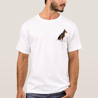 De houdingsprobleem van Doberman T Shirt