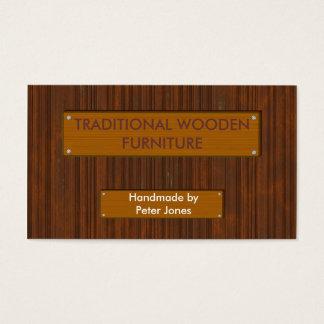 De houten 4 Houten Visitekaartjes van het Effect