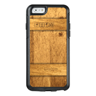De houten Doos van het Vervoer OtterBox iPhone 6/6s Hoesje