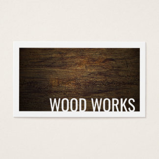 De houten Gegrenste Kaart van de Raad van de Visitekaartjes
