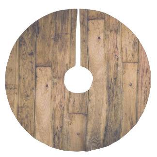 De Houten Houten Planken van de rustieke Schuur Kerstboom Rok