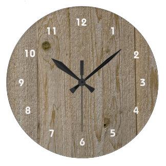 De houten Klok van de Textuur