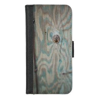 De houten lichte pool van Alaska iPhone 8/7 Portemonnee Hoesje