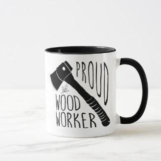 De houten Mok van de Koffie van de Arbeider