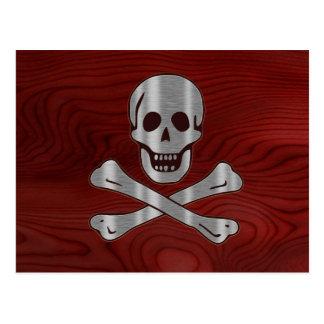De Houten Piraat van het staal Briefkaart