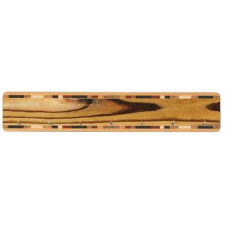 De houten Rustieke Streep van de Korrel Sleutelrekjes