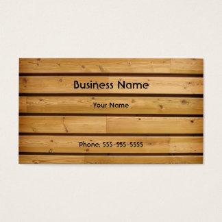 De houten Sjabloon van het Visitekaartje van de Visitekaartjes