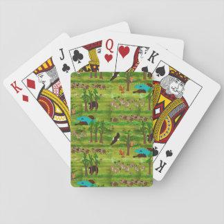De houten Speelkaarten van het Kenteken