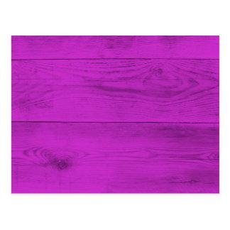 De Houten Structuur van Pinke Briefkaart