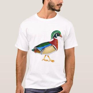 De houten T-shirt van de Eend