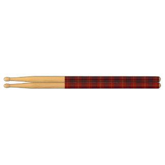 De Houten Trommelstokken van de Plaid van Hamilton Drumstokkies 0