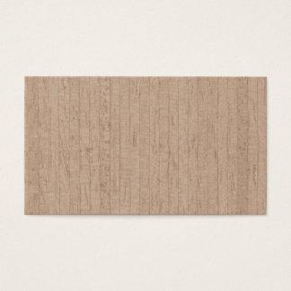 De houten Visitekaartjes van de Korrel