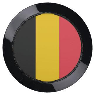 De Hub van de lader met Vlag van België USB Oplaadstation