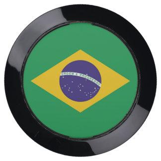 De Hub van de lader met Vlag van Brazilië USB Oplaadstation