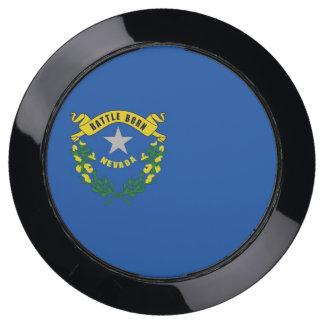 De Hub van de lader met Vlag van de Staat van USB Oplaadstation