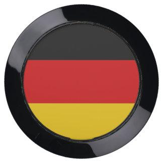 De Hub van de lader met Vlag van Duitsland USB Oplaadstation