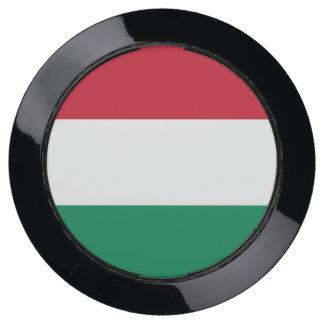De Hub van de lader met Vlag van Hongarije USB Oplaadstation