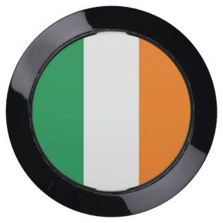 De Hub van de lader met Vlag van Ierland USB Oplaadstation