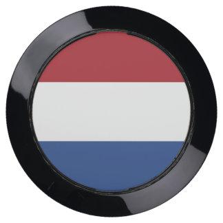 De Hub van de lader met Vlag van Nederland USB Oplaadstation