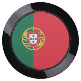De Hub van de lader met Vlag van Portugal USB Oplaadstation