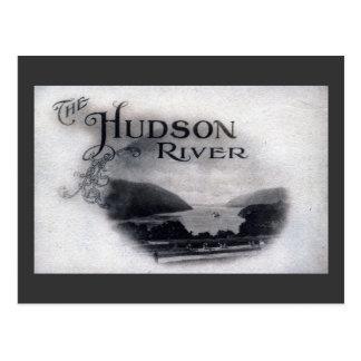 De Hudson Rivier, New York, de Wijnoogst van 1921 Briefkaart