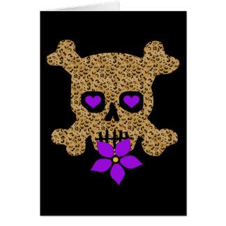 De Huid Valentijn van de luipaard Briefkaarten 0