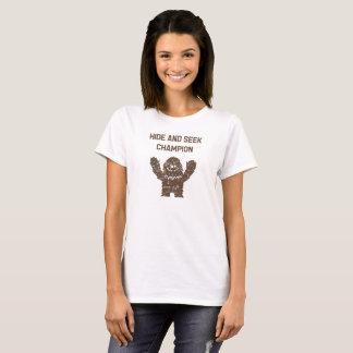 De Huid van Sasquatch van Bigfoot - en - zoekt de T Shirt