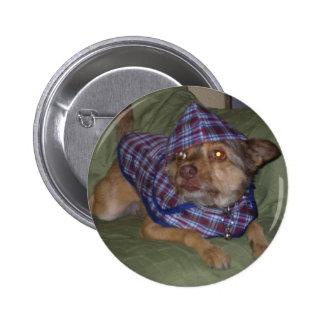 De huisdieren van Owo: Scooby Ronde Button 5,7 Cm