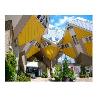 De huizen van de kubus, Rotterdam Blaak Briefkaart