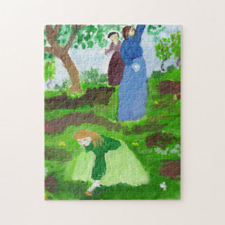 De huldepuzzel van de impressionist puzzel