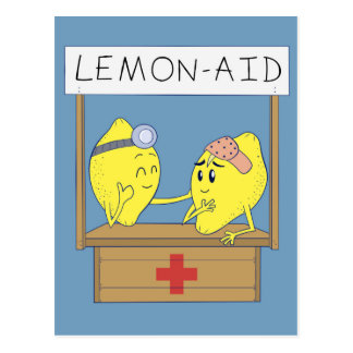 De Hulp van de citroen Briefkaart