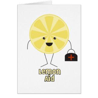 De Hulp van de citroen Kaart