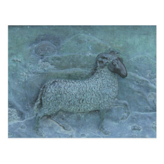 De Hulp van schapen Briefkaart