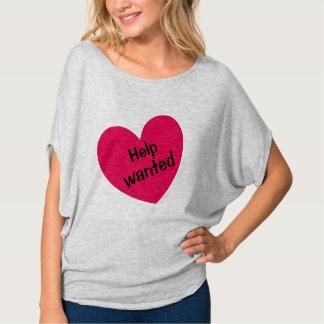 De hulp WILDE de Leuke Sexy Hete Roze Druk van het T Shirt