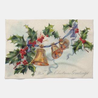 De Hulst Winterberry van het Lint van klokken Handdoek