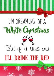 Grappige Kerstmis Wijn Kaarten Zazzle Nl