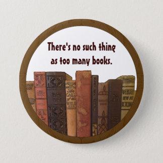 De humor van Bookaholic Ronde Button 7,6 Cm